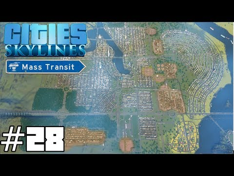 Cities: Skylines Mass Transit #28 - Minority Report Cops