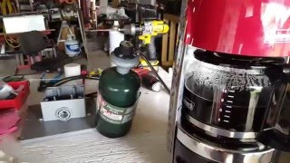 Here's a video of my coffee pot made by Coleman