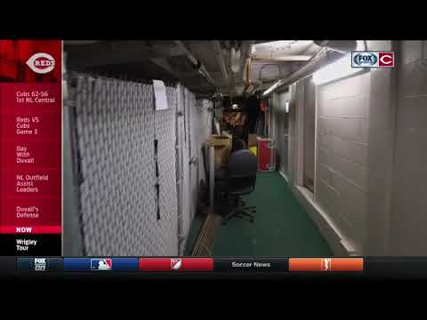 Jim Day takes you behind the scenes of the visitor's clubhouse at Wrigley Field
