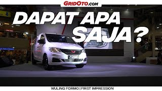 Download Video Formo, Mobil Termurah Wuling | First Impression | GridOto MP3 3GP MP4