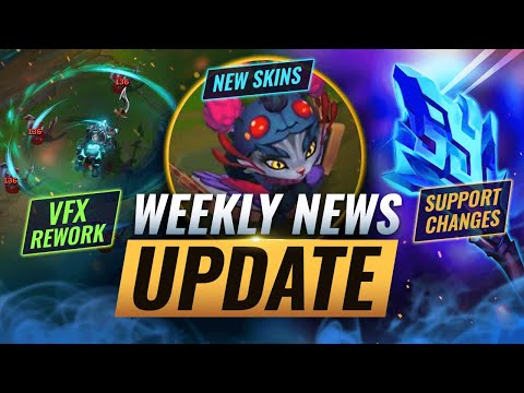 NEW UPDATES: SUPPORT NERFS + SKINS & MORE – League of Legends Season 11