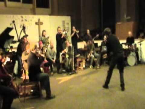 Wuppertaler Improvisations-Orchester:Sophienkirche,Wuppertal,20.1.12,Pt.II