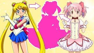 ANIME FUSION #1- Sailor Moon & Madoka Kaname