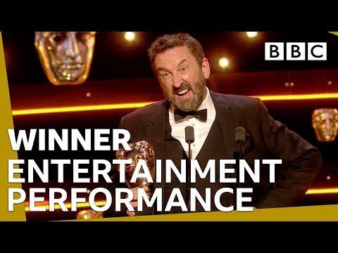 Lee Mack wins Entertainment Performance BAFTA | The British Academy Television Awards 2019 - BBC