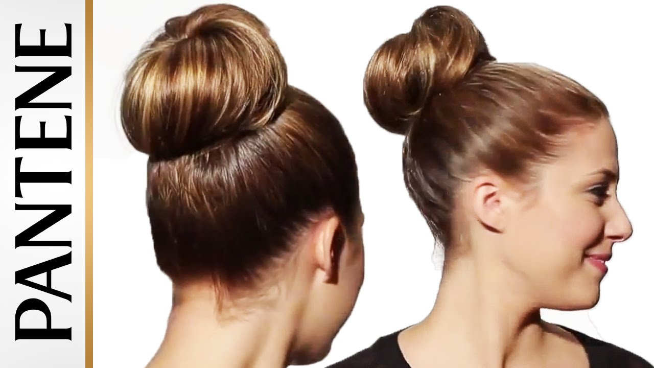 How To Make A Ballerina Bun Updo Hairstyles For Long Hair Youtube