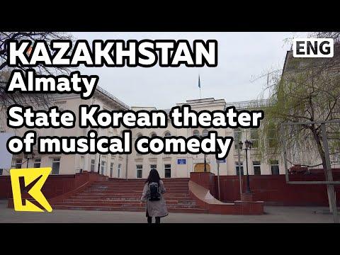 【K】Kazakhstan Travel-Almaty[카자흐스탄 여행-알마티]고려극장/State Korean theater/Musical/Goryeo/Koryo/Hong Beomdo
