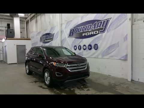 2017 Ford Edge SEL W/ 3.5L V6 Engine, Cold Weather Package Review | Boundary Ford