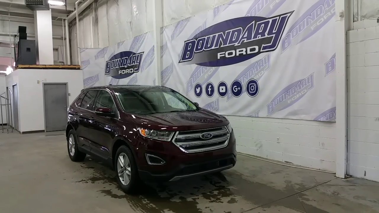 Ford Edge Sel W  L V Engine Cold Weather Package Review Boundary Ford