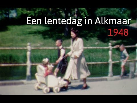 Lente in Alkmaar 1948