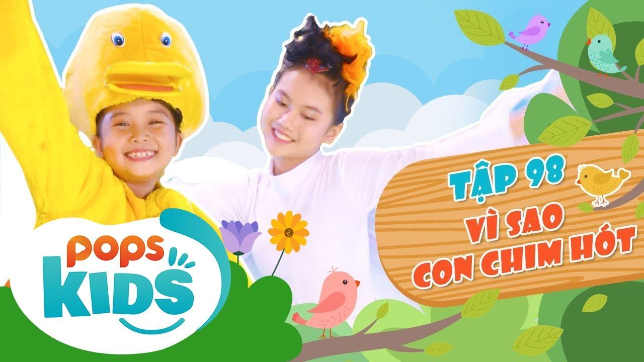 Mầm Chồi Lá Tập 98 - Vì Sao Con Chim Hót   Nhạc thiếu nhi hay cho bé   Vietnamese Kids Song