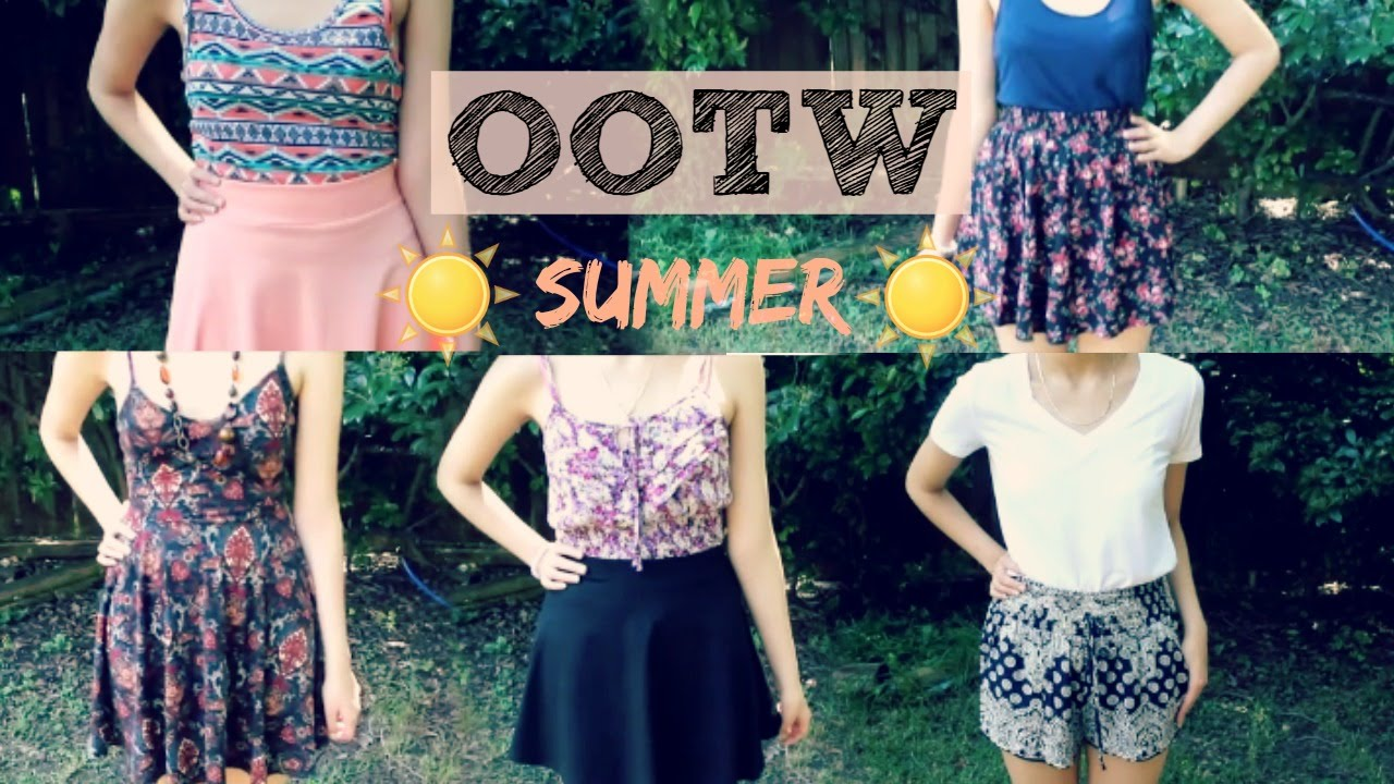 OOTW| Summer Outfit Ideas - YouTube