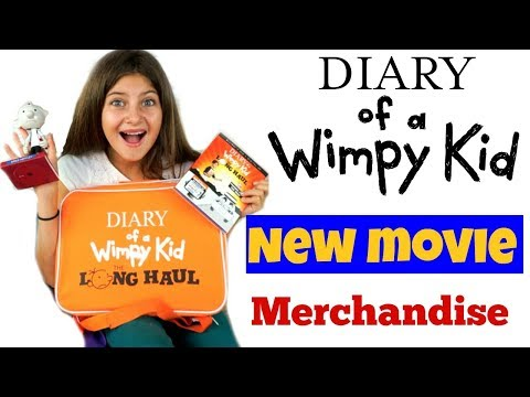 """Diary of a Wimpy Kid """"The Long Haul"""" MOVIE Haul!"""
