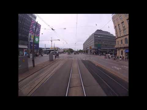 Helsingin Raitiolinja:2 Olympiaterminaali-PasilaUusi reitti(2017)Helsinki Tramline:2.New route(2017)
