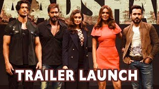 Full Video: Baadshaho Trailer Launch   Ajay Devgn, Ileana D'Cruz,Emraan Hashmi,Esha Gupta,