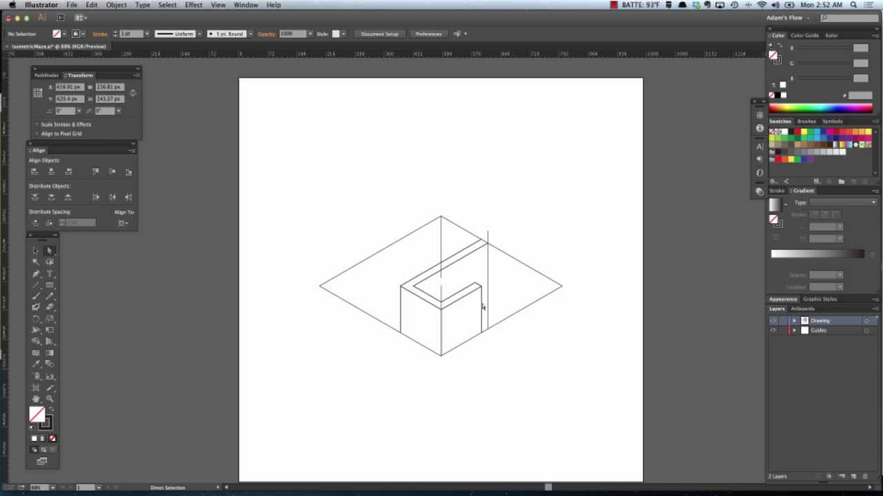 Isometric Maze Tutorial [ part 2 ]