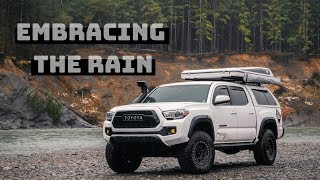 Camping In The Rain - Olympic Peninsula Part 1 | Conquest Overland