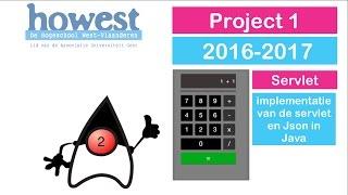 Project 1 (16-17) - Servlet - Implementatie Servlet en Json