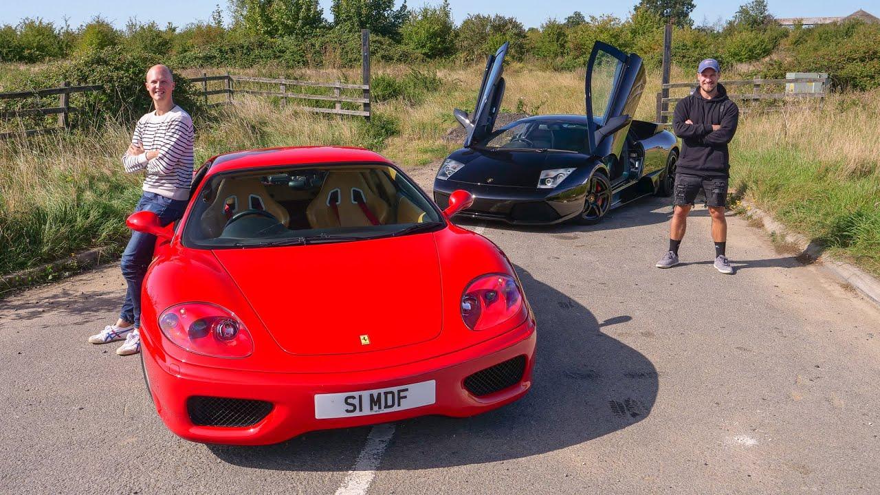 Lamborghini LP640 vs Ferrari  360 | Modern Classic Life