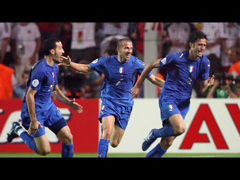 Italy vs Germany 2-0 (WORLD CUP 2006) HD 1080p - Different commentators