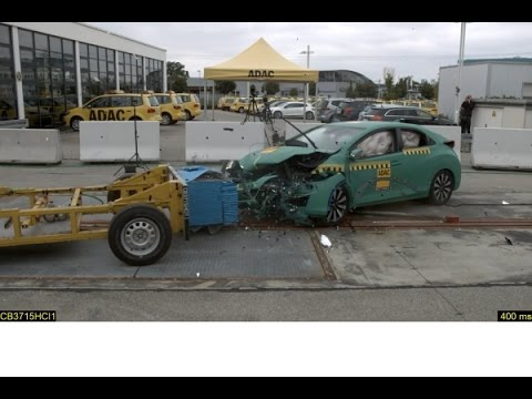 Adac Good To Poor Compatibility Crash Test Of Compact Cl Cars