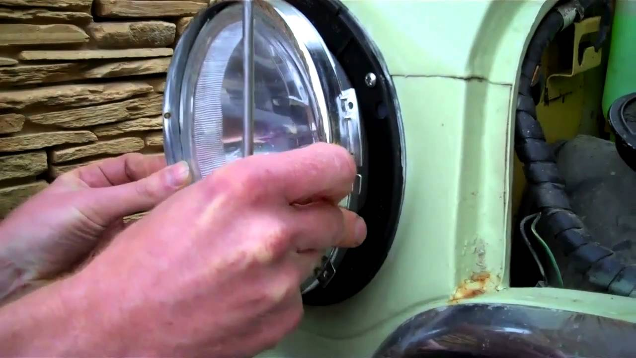 How To Fit Found 7 Headlights Austin Mini Or Youtube Rover Mpi Wiring Diagram