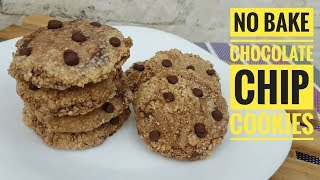 No Bake Chocolate Chips cookies  (Oatmeal Cookies)
