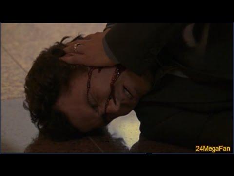 Tony Almeida gets shot at Mall - 24 Season 3