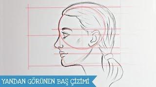 Çizim Ders 15 / Portre Profilden Görünüş