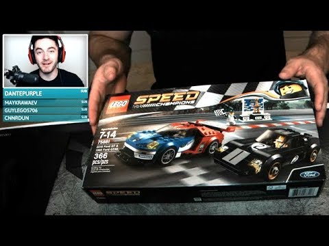 Building a Lego Ford GT40
