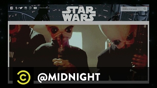 """The Sexiest """"Star Wars"""" Song In Australia - @midnight with Chris Hardwick"""