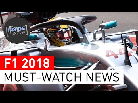 F1 NEWS 2018 - WEEKLY FORMULA 1 NEWS (13 FEBRUARY 2018) [THE INSIDE LINE TV SHOW]