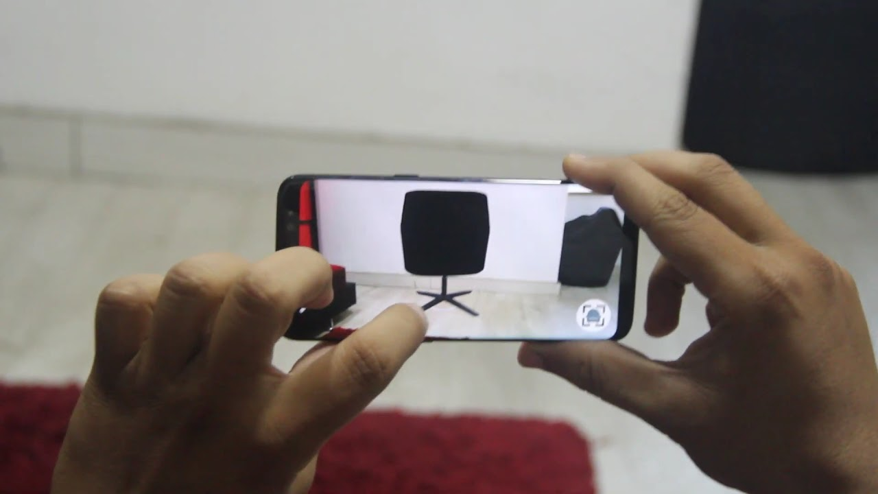 AR Furniture App made in Unity