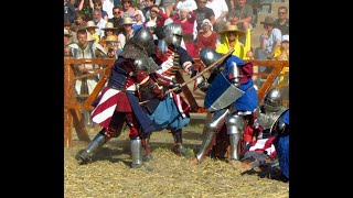 Team USA Medieval Knights fight Belarus 5 vs 5 Battle of the Nations