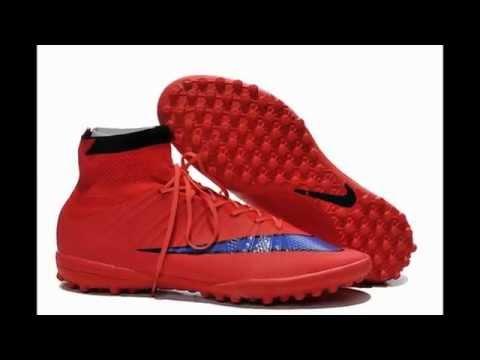clientes primero tienda oficial bien conocido Tacos Nike Elastico Mercurial SuperFly TF Multitaco Rojos