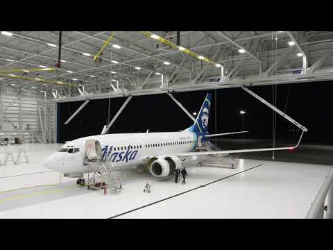 Case Study: Alaska Airlines' New Hangar Incorporates The Latest Megadoor Technology