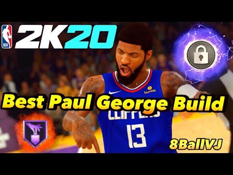 NBA 2K20 HOW TO CREATE PAUL GEORGE! BEST TWO-WAY BUILD!