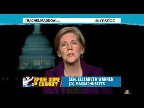 Elizabeth Warren On Social Security/Economic Populism. Rachel Maddow 11/20/2013