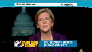 Elizabeth Warren On Social Security/Economic Populism. Rachel Maddow 11/20/2013