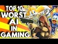 Top 10 Worst AI in Gaming