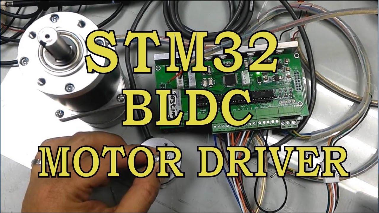 Stm32 Bldc Hall Sensor Motor Driver Pid Position Control
