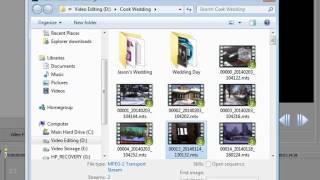 Sony Movie Studio 13 Basic Training, Part 1 of 8
