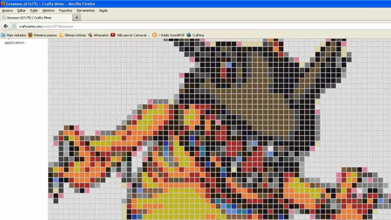 Tutorial Minecraft Pixel Art Homenagem Ao Pxg Youtube