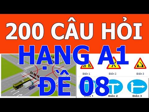 ✅ Mẹo thi bằng lái xe A1 2021 ⛔️ Giải đề 08