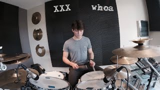 XXXTENTACION - whoa (mind in awe) - DRUM COVER