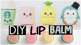 DIY LIP BALM - Four Easy & Cute Ideas!