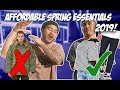 AFFORDABLE SPRING ESSENTIALS YOU NEED mp3