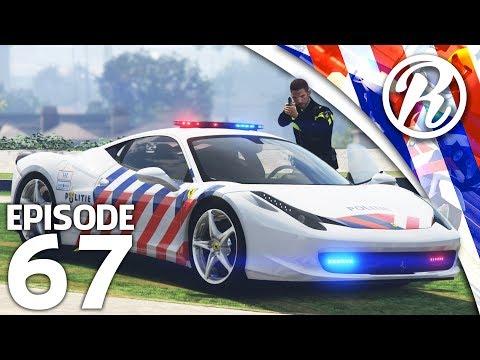 [GTA5] POLITIE PATROL IN EEN FERRARI!! - Royalistiq | Nederlandse Politie #67