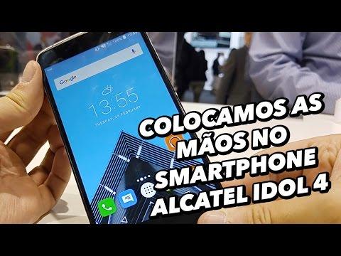 Colocamos As Mãos No Smartphone Alcatel Idol 4 [Hands On] - MWC 2016