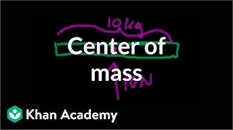 Center of mass | Impacts and linear momentum | Physics | Khan Academy