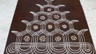 sankranthi ratham muggulu designs    pongal ratham designs    easy rangoli designs